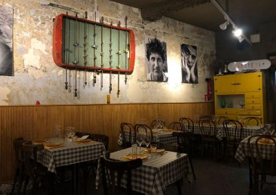 Reforma de bar-restaurante