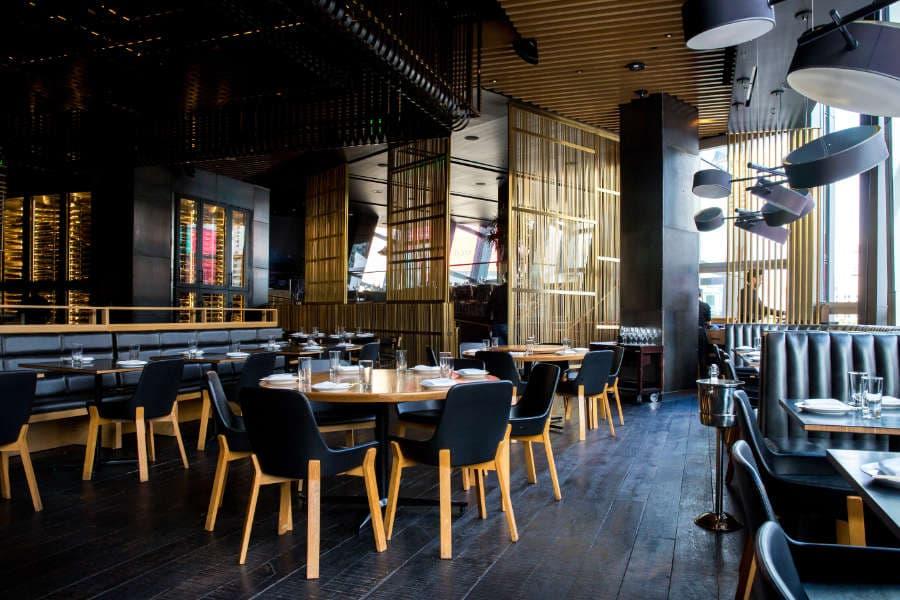 Restaurante moderno reformado